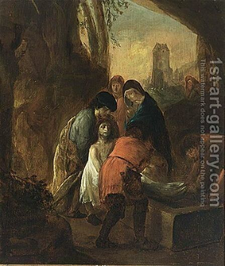 The Entombment by (after) Thomas De Keyser - Reproduction Oil Painting