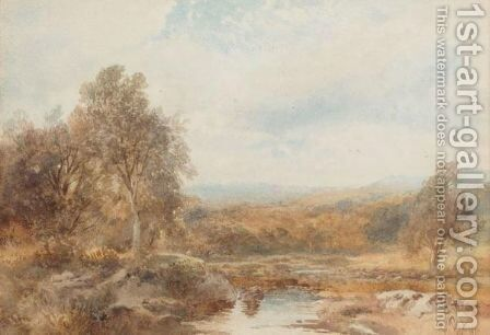 Little Budworth, Near Chester by Albert Pollitt - Reproduction Oil Painting