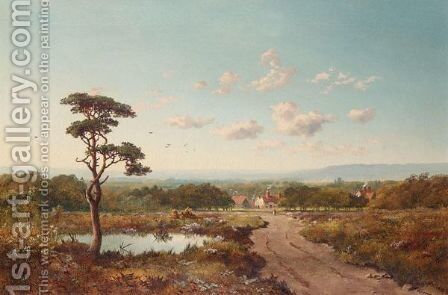 Woking Common, Surrey by Edward H. Niemann - Reproduction Oil Painting