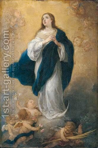 The Immaculate Conception 3 by Bartolome Esteban Murillo - Reproduction Oil Painting