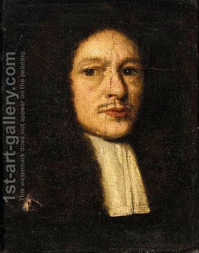 Portrait Of A Gentleman by Dutch School - Reproduction Oil Painting