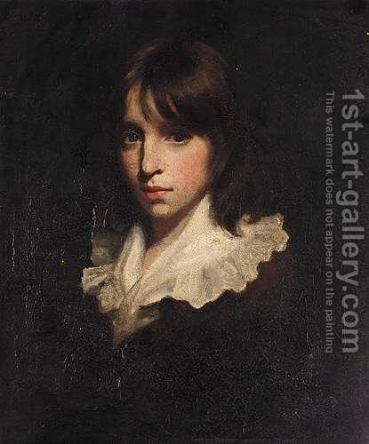 Portrait Of A Boy 2 by (after) John Opie - Reproduction Oil Painting