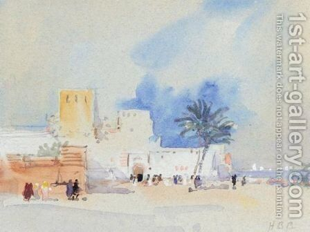 Morocco by Hercules Brabazon Brabazon - Reproduction Oil Painting