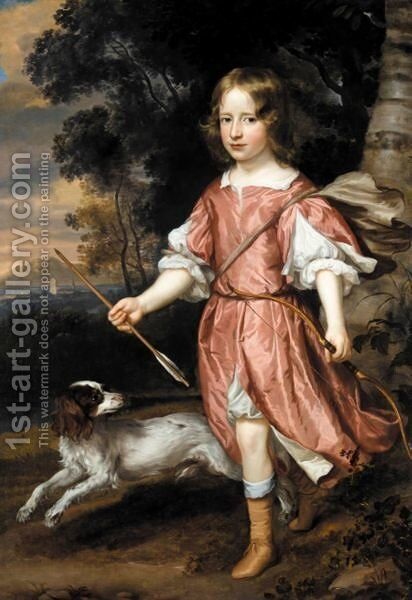 Portrait Of A Boy, Traditionally Said To Be Charles Lennox, Duke Of Richmond by Jan Mytens - Reproduction Oil Painting