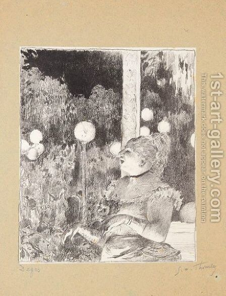 The Song Of The Dog (Reed And Shapiro 25b) by (after) Edgar Degas - Reproduction Oil Painting