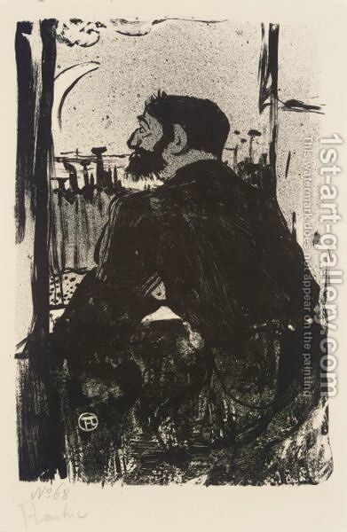Nuit Blanche by Toulouse-Lautrec - Reproduction Oil Painting