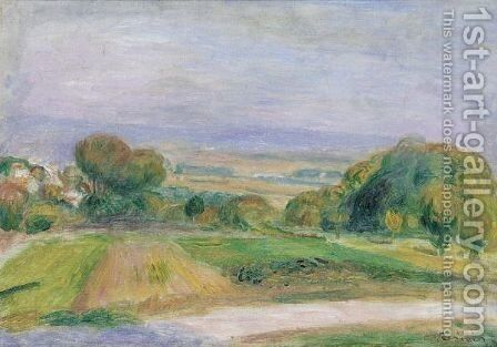 Paysage, Magagnosc by Pierre Auguste Renoir - Reproduction Oil Painting