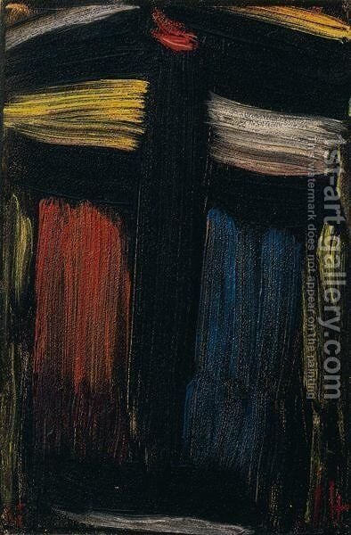 Grosse Meditation (Large Meditation) by Alexei Jawlensky - Reproduction Oil Painting