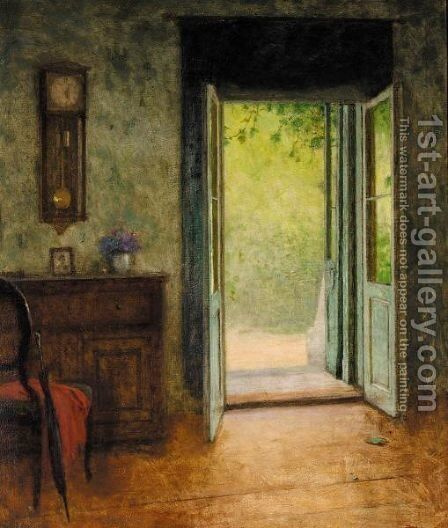 Interior by Jacob Schikaneder - Reproduction Oil Painting