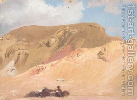 Halte Dans Le Desert by Jean-Léon Gérôme - Reproduction Oil Painting