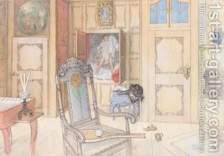 Gammelrummet (The Old Room) by Carl Larsson - Reproduction Oil Painting