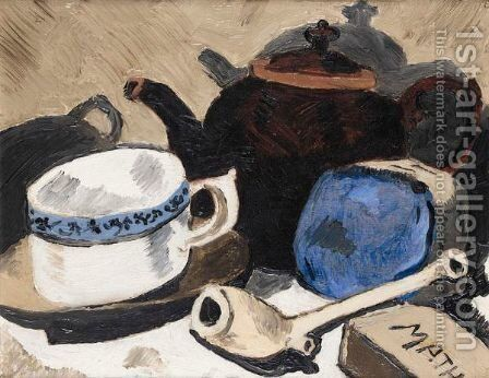 Still Life 2 by Christopher Wood - Reproduction Oil Painting