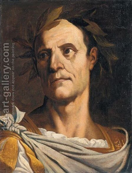Giulio Cesare by Italian School - Reproduction Oil Painting