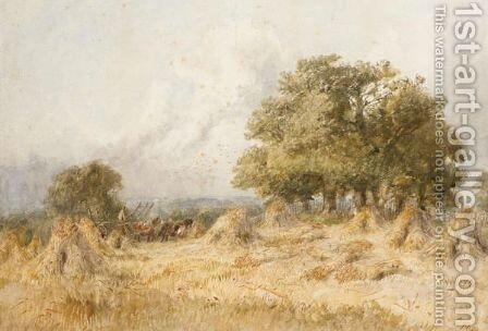 Harvest Time by James Price - Reproduction Oil Painting