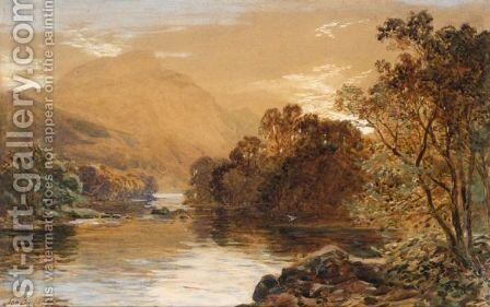View In Cumberland by Samuel Bough - Reproduction Oil Painting