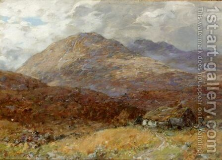 After Rain, Glen Duror by Alexander Kellock Brown - Reproduction Oil Painting
