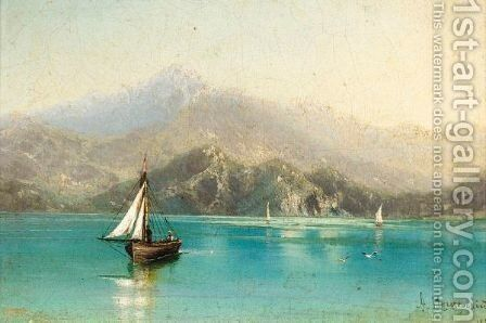 Shipping In The Crimea by Arseniy Ivanovich Meshchersky - Reproduction Oil Painting