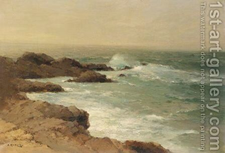 Seascape by Aleksei Vasilievich Hanzen - Reproduction Oil Painting