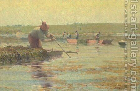 River Weeders by Edward Barnard - Reproduction Oil Painting
