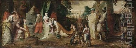 The Adoration Of The Magi by (after) Karel Van Mander I - Reproduction Oil Painting