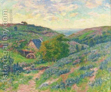 Le Moulin A Doualan, Finistere by Henri Moret - Reproduction Oil Painting