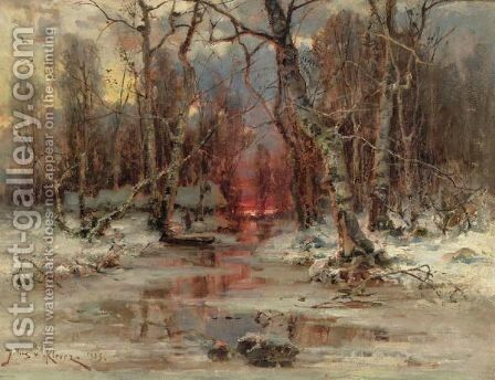 Forest Clearing by Iulii Iul'evich (Julius) Klever - Reproduction Oil Painting