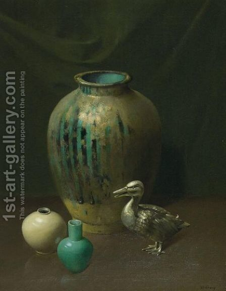 The Silver Duck by Harry Willson Watrous - Reproduction Oil Painting