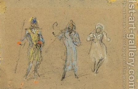 Souvenir Of The Gaiety by James Abbott McNeill Whistler - Reproduction Oil Painting