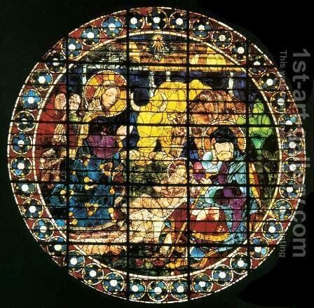 Birth Of Christ by Paolo Uccello - Reproduction Oil Painting