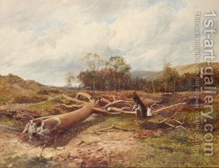 A Fallen Giant by David Bates - Reproduction Oil Painting