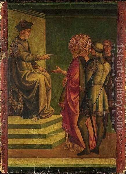 Scene From The Life Of Saint Silvester by (after) Francesco Di Stefano (Il Pesellino) - Reproduction Oil Painting