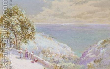 Italian View by Charles Rowbotham - Reproduction Oil Painting