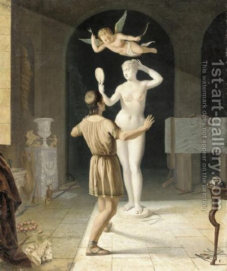 Pygmalion by Jacques Brunel - Reproduction Oil Painting