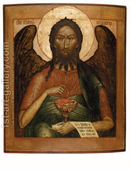 Angel by - Unknown Painter - Reproduction Oil Painting
