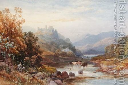 River Landscapes by James Burrell Smith - Reproduction Oil Painting