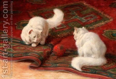Playtime 3 by Arthur Heyer - Reproduction Oil Painting