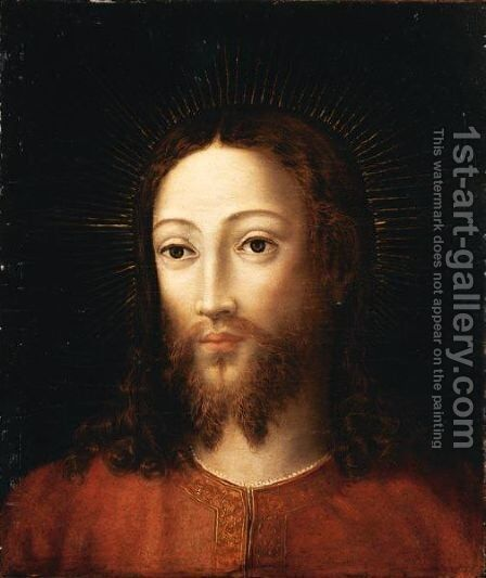 Cristo by Italian School - Reproduction Oil Painting