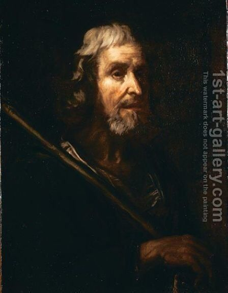 S. Andrea Apostolo by Italian School - Reproduction Oil Painting