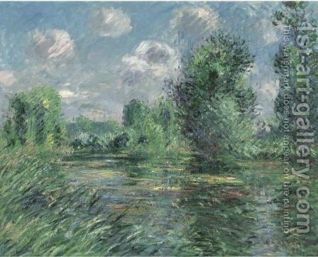 Etang A Muid, Eure by Gustave Loiseau - Reproduction Oil Painting