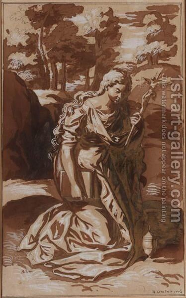 Mary Magdalene by Bernard II Lens - Reproduction Oil Painting