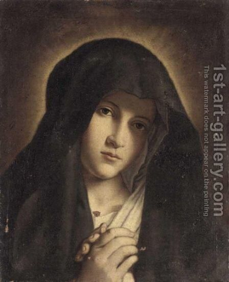The Madonna At Prayer 4 by (after) Giovanni Battista Salvi, Il Sassoferato - Reproduction Oil Painting