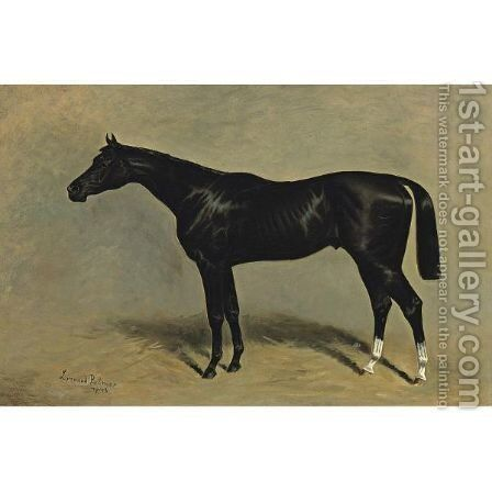 Domino by James Lynwood Palmer - Reproduction Oil Painting