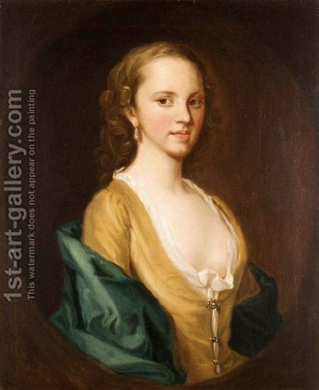 Portrait Of A Lady by (after) Cosmo Alexander - Reproduction Oil Painting