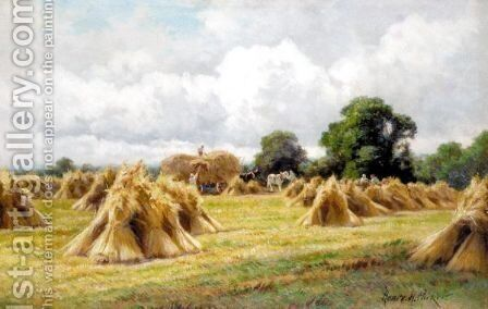 'Make Hay While The Sun Shines' by (after) Henry Deacon Hillier Parker - Reproduction Oil Painting