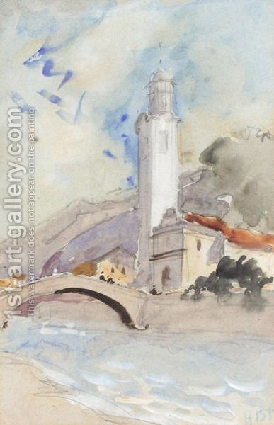 Ticino, Italy by Hercules Brabazon Brabazon - Reproduction Oil Painting