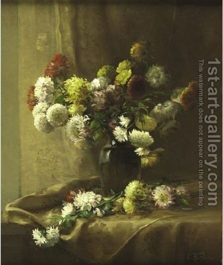 Flowers by Charles Ethan Porter - Reproduction Oil Painting