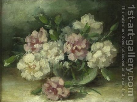 Still Life With Flowers by Charles Ethan Porter - Reproduction Oil Painting