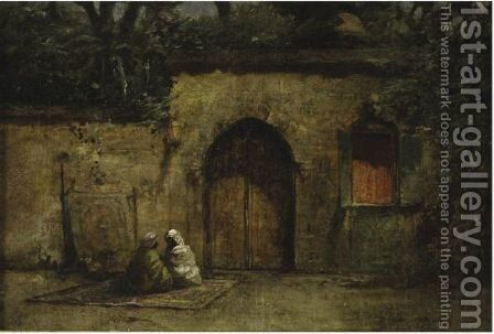 Guards Resting In The Afternoon by Addison Thomas Millar - Reproduction Oil Painting