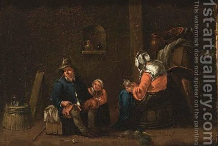 Untitled by (after) Egbert Van, The Younger Heemskerck - Reproduction Oil Painting