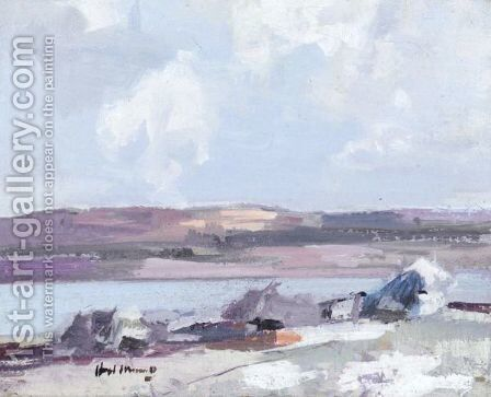 Mull Shore by Hugh Munro - Reproduction Oil Painting